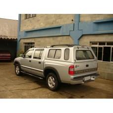 CAPOTA ALTURA DA CABINE GM S10 CABINE DUPLA - C/ JANELAS DE CORRER