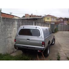 CAPOTA ALTURA DA CABINE MITSUBISHI L200 CABINE DUPLA (2004 a 2012) - S/ VIDROS NAS LATERAIS