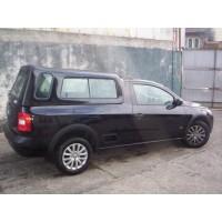 CAPOTA ALTURA DA CABINE VW NOVA SAVEIRO CS - C/ JANELAS DE CORRER