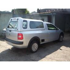 CAPOTA ALTURA DA CABINE VW NOVA SAVEIRO CS - VIDROS FIXOS