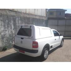 CAPOTA ALTURA DA CABINE VW NOVA SAVEIRO CS - S/ VIDROS NAS LATERAIS